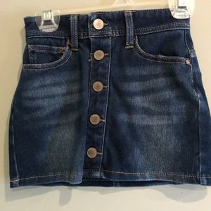 Justice Girls Denim Skirt, Never Worn